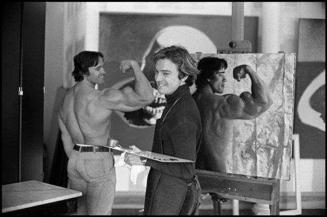 Vintage Photo Of Arnold Schwarzenegger