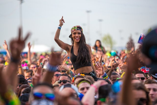 In this handout photo provided by Insomniac, the 4th Annual Electric Daisy Carnival (EDC), New York returns to MetLife Stadium Memorial Day weekend, May 23-24, 2015. (Photo by Insomniac via Getty Images)