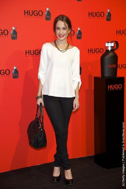 Spanish actress Silvia Alonso attends Hugo Boss night party 2011