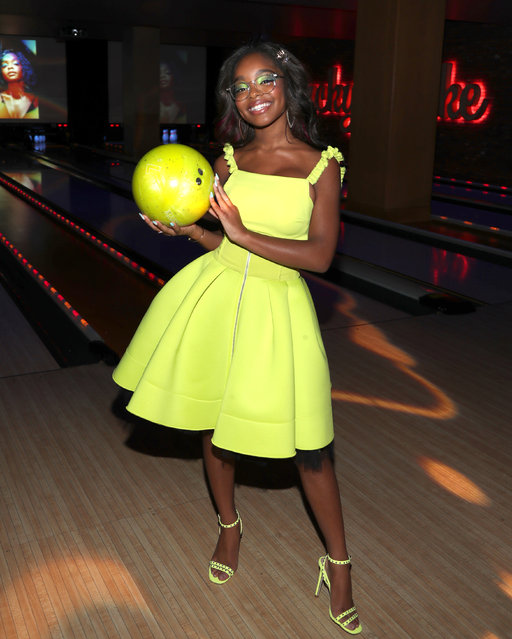 Marsai Martin celebrates her 15th Birthday Party at Lucky Strike LA Live on September 01, 2019 in Los Angeles, California. (Photo by Jerritt Clark/Getty Images for Genius Productions)