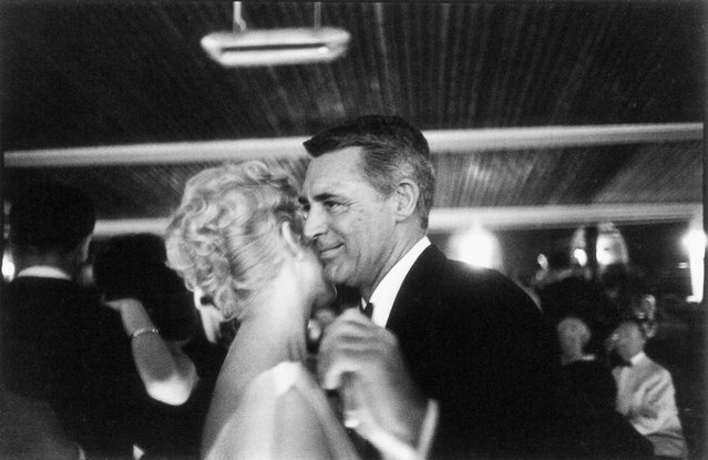From left, Kim Novak and Cary Grant dance at the 12th Cannes Film Festival, 1959. (Photo by Francois Gragnon/Getty Images/Paris Match)