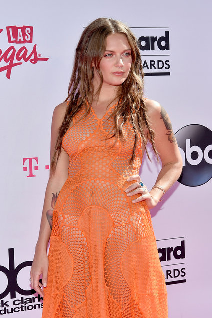 Recording artist Tove Lo attends the 2016 Billboard Music Awards at T-Mobile Arena on May 22, 2016 in Las Vegas, Nevada. (Photo by David Becker/Getty Images)