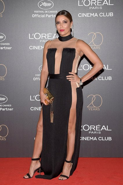 Eva Longoria attends the Gala 20th Birthday Of L'Oreal In Cannes during the 70th annual Cannes Film Festival at Martinez Hotel on May 24, 2017 in Cannes, France. (Photo by Pascal Le Segretain/Getty Images)