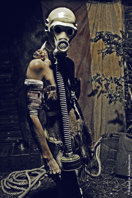 Gas Mask. Children of the Evolution - Wasteland, 2007 by Mickey McCooper