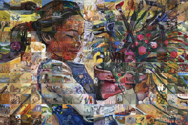 Lewis Lavoie by  Mural Mosaic
