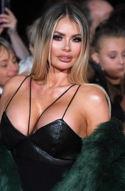 Chloe Sims attends the National Television Awards 2018 at the O2 Arena on January 23, 2018 in London, England. (Photo by David Fisher/Rex Features/Shutterstock)