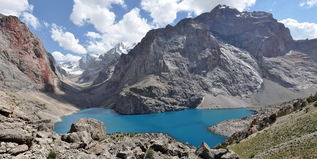 Fann Mountains In Tajikistan