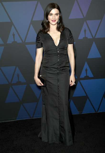 Rachel Weisz attends the Academy of Motion Picture Arts and Sciences' 10th Annual Governors Awards at The Ray Dolby Ballroom at Hollywood & Highland Center on November 18, 2018 in Hollywood, California. (Photo by Frederick M. Brown/FilmMagic)