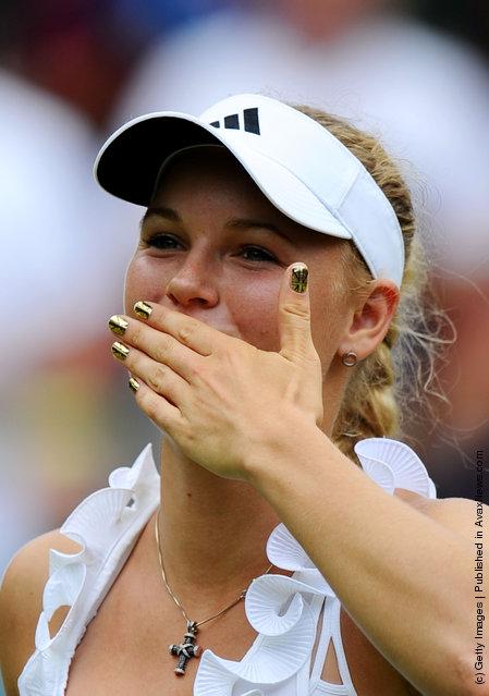 Caroline Wozniacki of Denmark