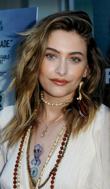 "Paris Jackson attends the LA Special Screening of Roadside Attractions' ""The Peanut Butter Falcon"" at ArcLight Hollywood on August 01, 2019 in Hollywood, California. (Photo by The Mega Agency)"