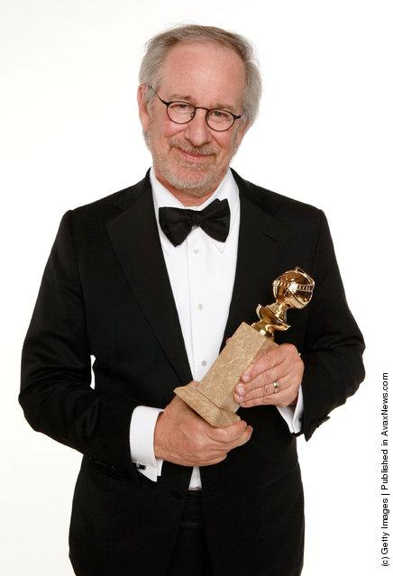 Director Steven Spielberg, winner of the Best Animated Film Award