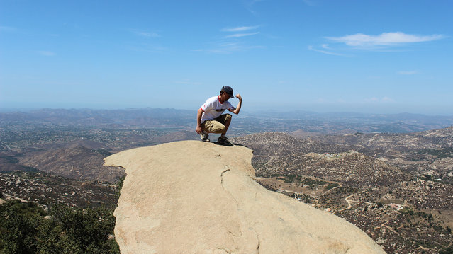 "Potato Chip Rock. ""Made It, Yes!"". (Photo by Stecki3D)"