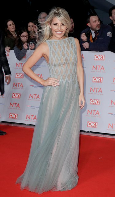 Mollie King attends the National Television Awards 2018 at the O2 Arena on January 23, 2018 in London, England. (Photo by John Phillips/Getty Images)