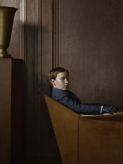 «Berlin» Project. Porträt 01, April, 22, 2012. (Photo by Erwin Olaf/Hasted Kraeutler Gallery)