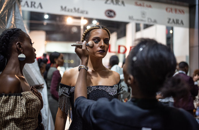 Pride in appearance is a big part of the Congolese identity. (Photo by Olivia Acland/The Guardian)