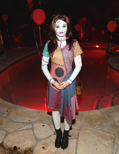 Actress Joey King attends Just Jared's 6th Annual Halloween Party on October 27, 2017 in Beverly Hills, California. (Photo by Jerritt Clark/Getty Images for Just Jared)