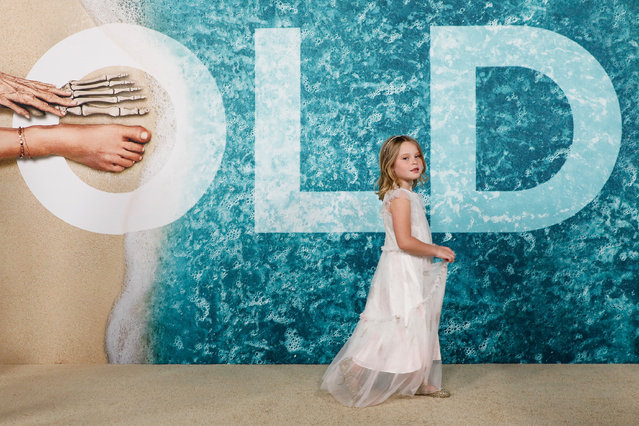 """Actor Kylie Begley attends the premiere of """"Old"""" at Jazz at Lincoln Center on July 19, 2021 in New York City. (Photo by Taylor Hill/FilmMagic)"""