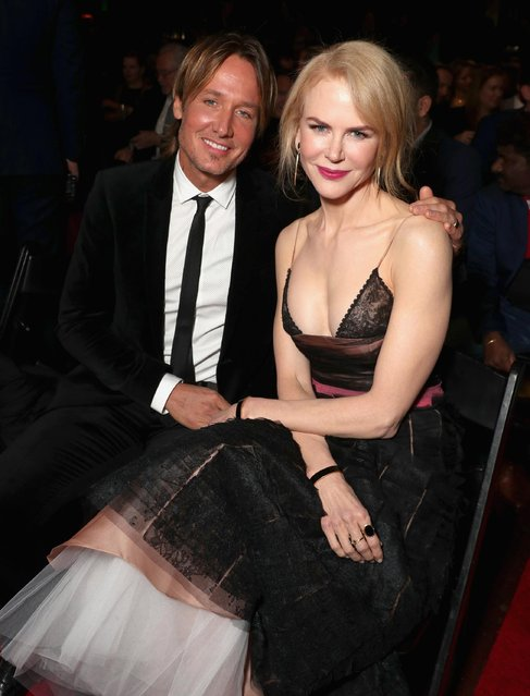 Musician Keith Urban (L) and actress Nicole Kidman attend The 6th AACTA International Awards on January 6, 2017 in Los Angeles, California. (Photo by Todd Williamson/Getty Images for AACTA)