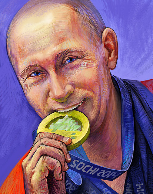 Political Art By Nadia Khuzina