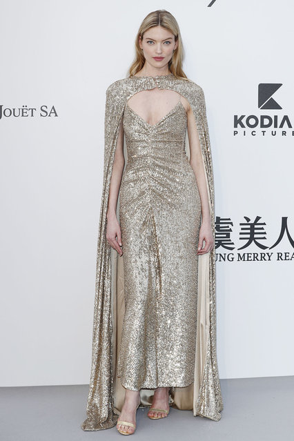 Martha Hunt attends the amfAR Cannes Gala 2019 at Hotel du Cap-Eden-Roc on May 23, 2019 in Cap d'Antibes, France. (Photo by John Phillips/amfAR/Getty Images for amfAR)