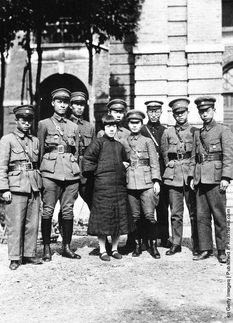 1927: Members of China's Red Army's Propaganda Corps