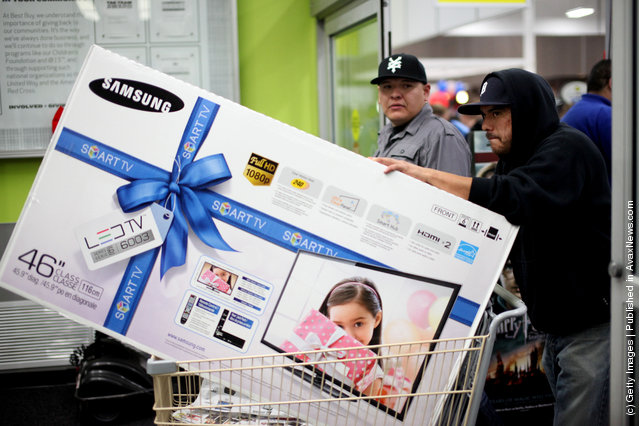 Black Friday Marks Start Of Holiday Shopping Season