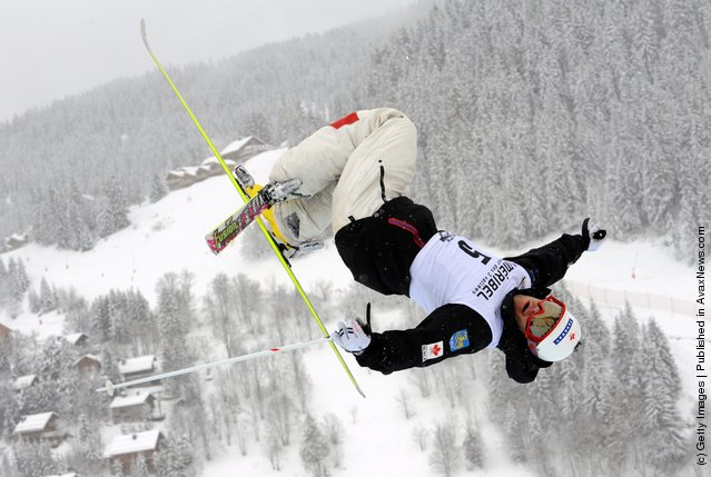 Philippe Marquis of Canada during the FIS Freestyle Ski World Cup Dual Moguls