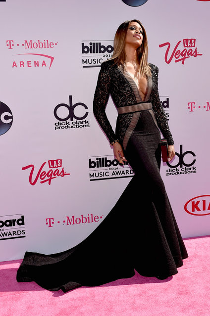Singer Laverne Cox attends the 2016 Billboard Music Awards at T-Mobile Arena on May 22, 2016 in Las Vegas, Nevada. (Photo by David Becker/Getty Images)