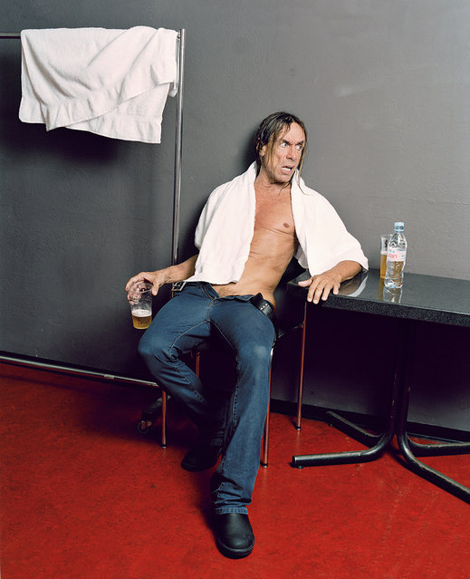 """The Moment After the Show"": Iggy Pop. (Photo by Matthias Willi/Olivier Joliat/The Moment After The Show)"
