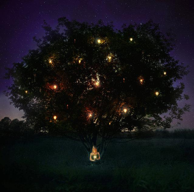 """the wishing tree"". (Kindra Nikole)"
