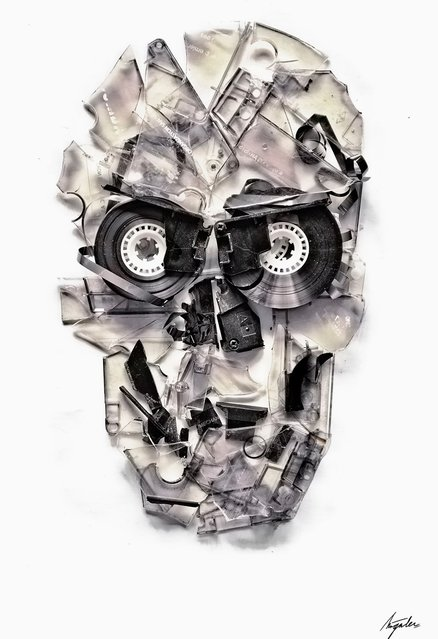 Skull Art By Ali Gulec