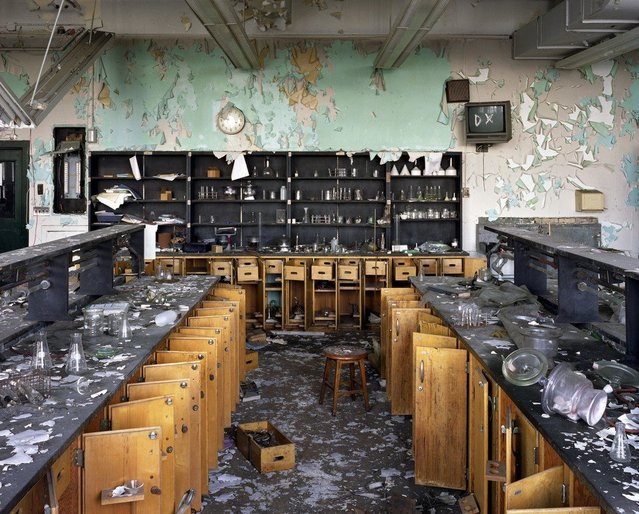 Cass Technical High School. (Photo by Yves Marchand/Romain Meffre)