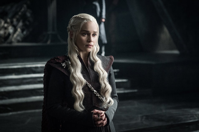 The hacker stole unaired episodes of the popular HBO series and then threatened to release them. Actress Emilia Clarke, who plays Daenerys Targaryen, is seen. (Photo by HBO)