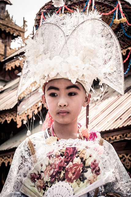The ceremony is a crucial tradition for the Shan people, who live in southeast Asia mostly in northern Thailand and Myanmar in Mae Hong Son, Thailand, April 2016. (Photo by Claudio Sieber/Barcroft Images)