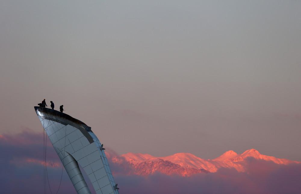 Sochi Prepare for 2014 Winter Olympics