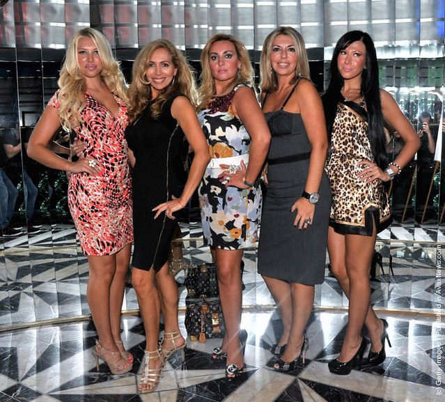 Diana, Renata, Marina, Sveta and Anastasia of the Showtime reality show Russian Dolls