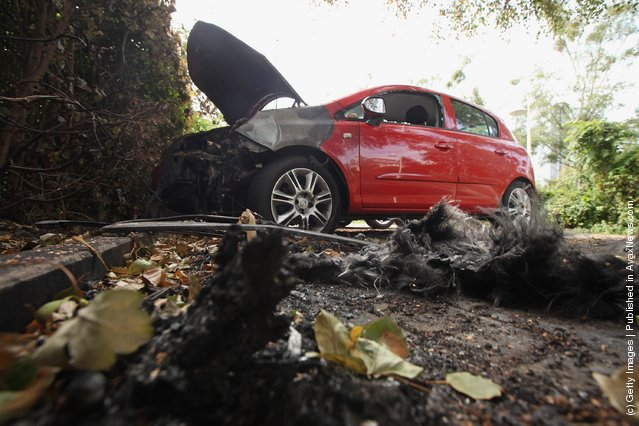 Arson Attacks Against Cars In Berlin Continue