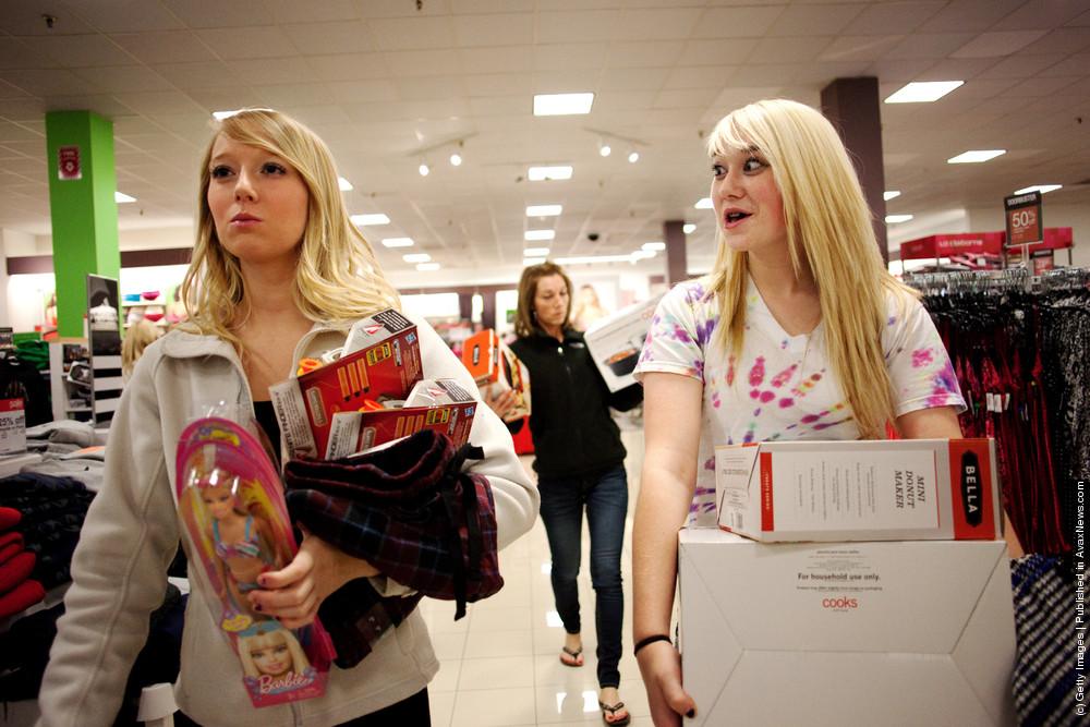 Black Friday Marks Start Of Holiday Shopping Season