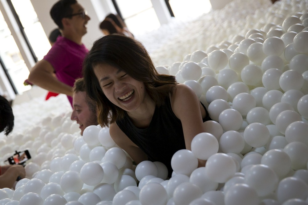 Plastic Balls Bathing