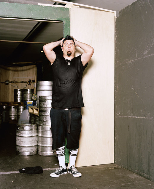 """""""The Moment After the Show"""": Chino Moreno of The Deftones. (Photo by Matthias Willi/Olivier Joliat/The Moment After The Show)"""