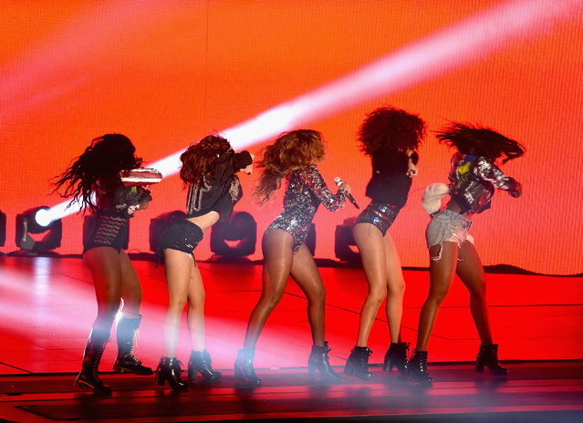Honoree Beyonce performs onstage during the 2014 MTV Video Music Awards at The Forum on August 24, 2014 in Inglewood, California. (Photo by Michael Buckner/Getty Images)