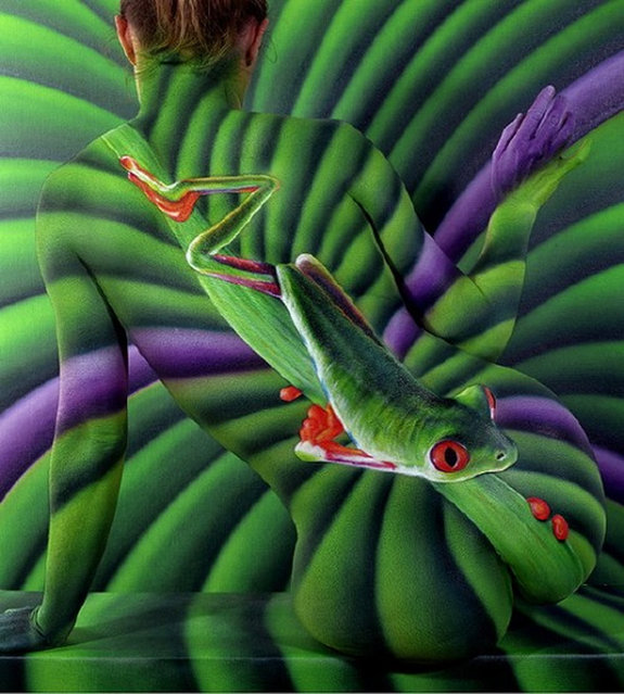 Body Painting Art by Craig Tracy