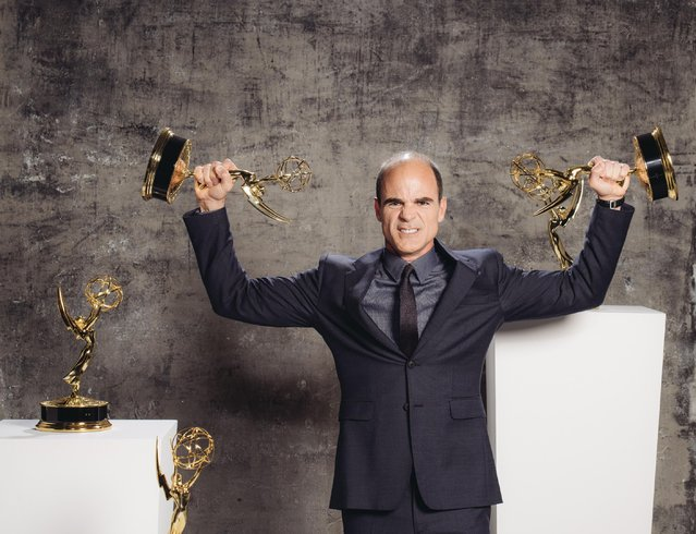 Michael Kelly poses for a portrait at the Television Academy's 67th Emmy Awards Performers Nominee Reception at the Pacific Design Center on Saturday, September 19, 2015 in West Hollywood, Calif. (Photo by Casey Curry/Invision for the Television Academy/AP Images)