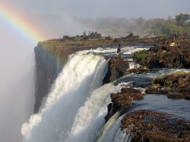Devil's Pool – Victoria Falls From Livingstone Island. (Photo by Greg and Ashley)