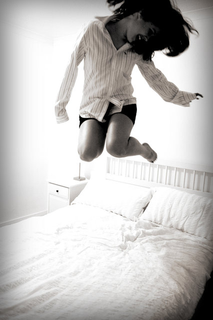 """Jumpology"". ""When The Cat's Away The Mouse Will Play"". (Photo by AlicePalice)"