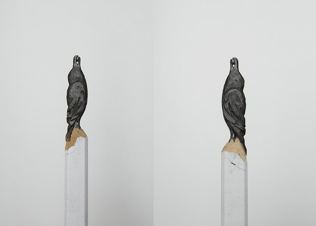 Pencil Carvings By Diem Chau