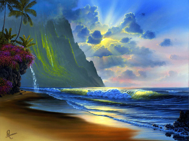 Amazing World By Al Hogue