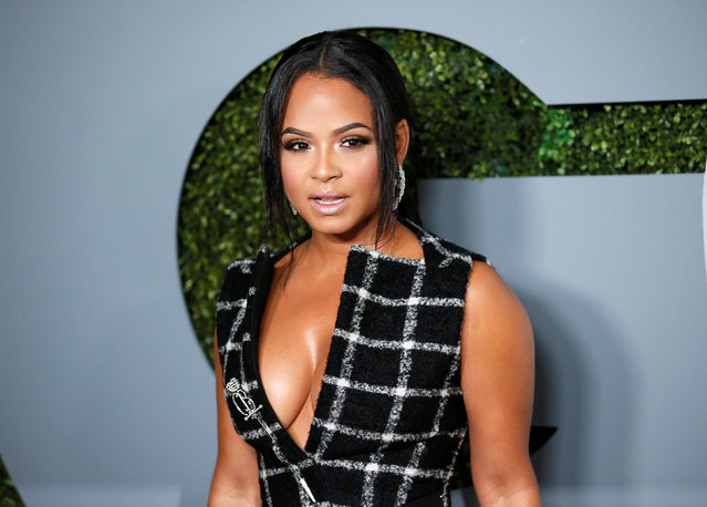 Singer Christina Milian poses at the GQ Men of the Year Party in West Hollywood, California, December 8, 2016. (Photo by Danny Moloshok/Reuters)