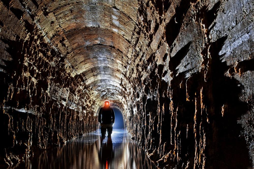 Underground Tunnels by Anna Arinova
