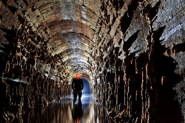 Regenwurmlager, Poland. The Regenwurmlager is an extensive underground fortification area constructed by Germany in 1920s-1940s, now in western Poland, near the city of Międzyrzecz. (Photo by Anna Arinova/Caters News)